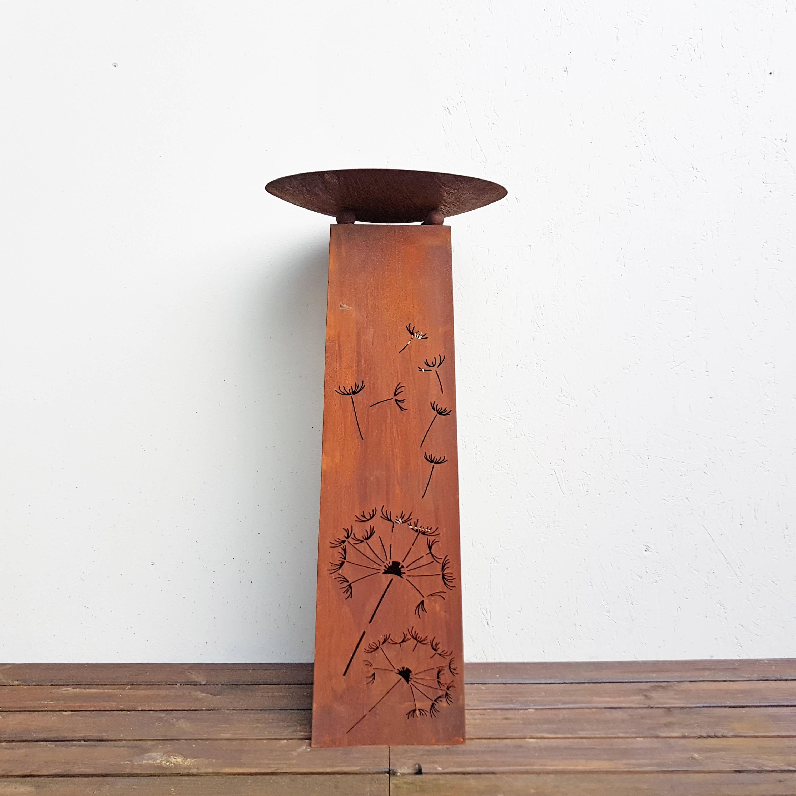 Holz schale säule mit Gartendeko Shop